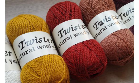 Twister wool Yarn