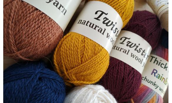 Yarns for Knitting & Crochet